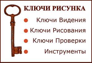 ключи рисунка