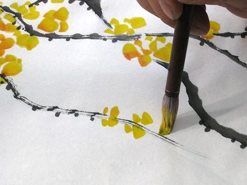 как нарисовать цветы жасмина