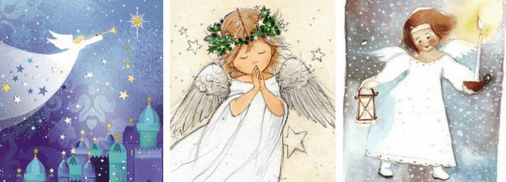 как рисовать ангела