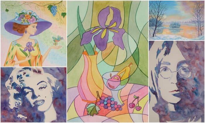 Школа рисования онлайн Марины Трушниковой школа живописи