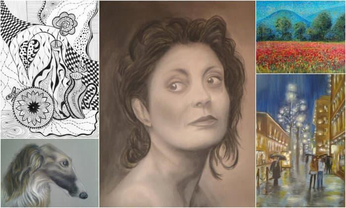как нарисовать портрет, Марина Трушникова