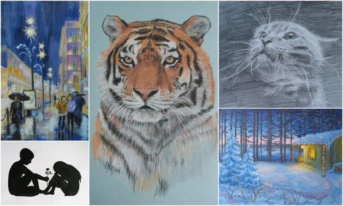 школа живописи и рисунка, основы композиции