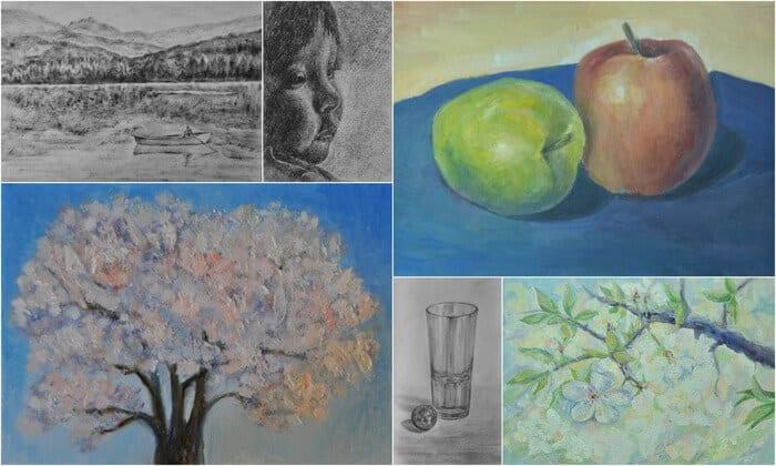 уроки рисования Марины Трушниковой