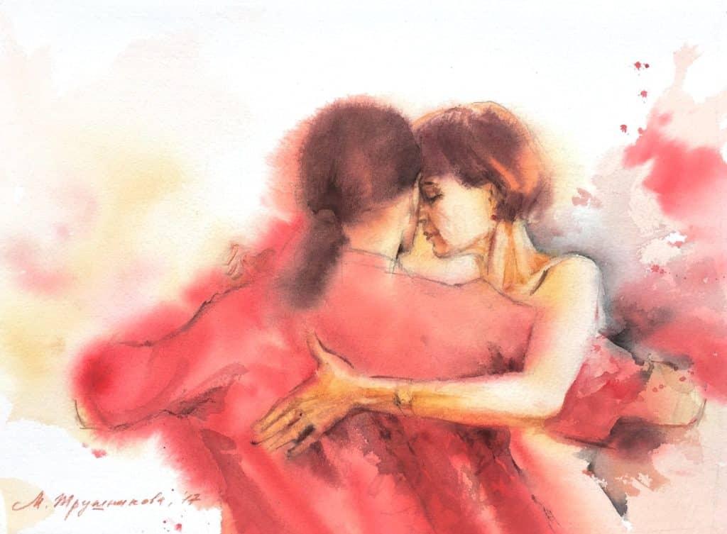 Светлана танцует, танго-портрет, Трушникова
