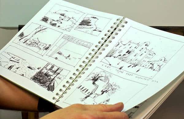 Зарисовки из альбома Александра Воцмуша