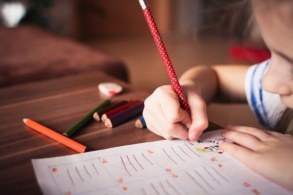 детство, карандаши
