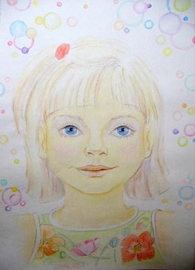 детский портрет, курс Зеркало Души