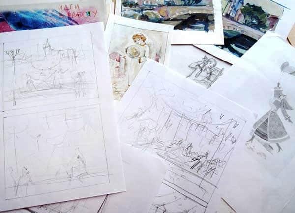 Что рисовать: пересмотреть старые рисунки