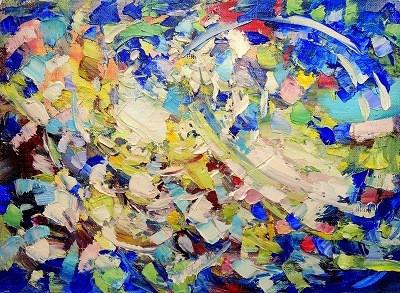Идеи для рисования: абстрактные пятна