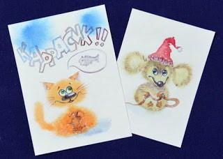 Что рисовать: открытки близким и родным
