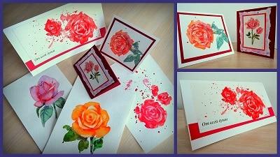 идеи для рисования: поздравительные открытки