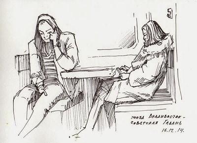 идеи для рисования: наброски людей, животных