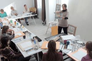 Где учиться рисовать: мастер-классы художников