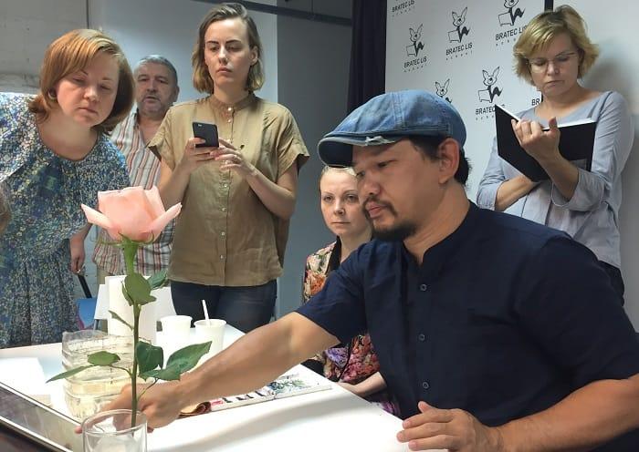 la fe художник, мастер-класс в Москве