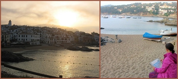 Обучение акварели в Испании, EPC art courses