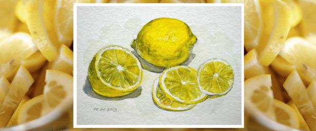 Лимоны. Мастер-класс Марины Трушниковой