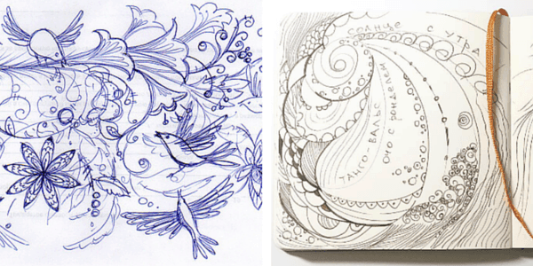 Почему люди рисуют: машинальные рисунки