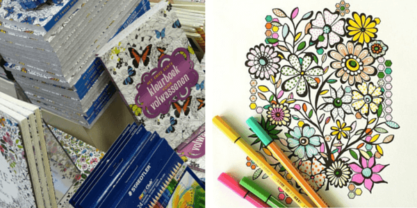 Почему люди рисуют: раскраски антистресс