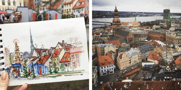 Почему люди рисуют: рисование в путешествиях