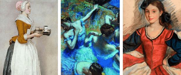 сухая пастель, известные картины