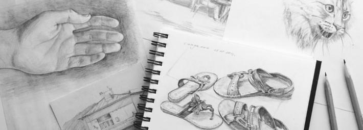 рисование простым карандашом