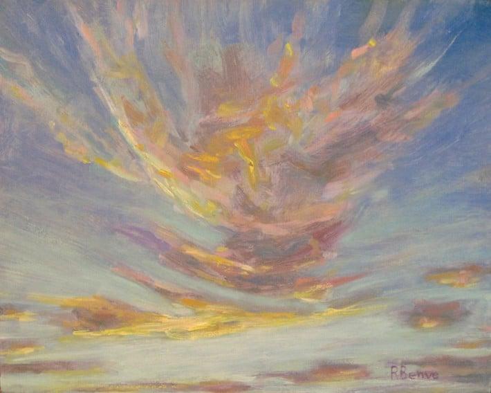 Как рисовать небо и закаты 10 подсказок от Robie Benve