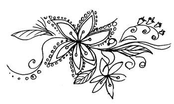дудлинг, цветочный ковер, гармонизация, практика