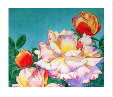 Барбара Фокс, розы, мастер-класс