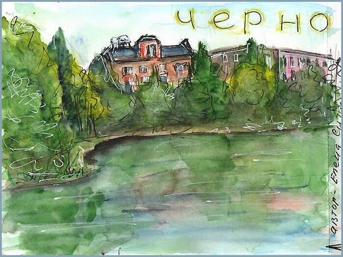 sketchbook, Черноголовка, наукоград