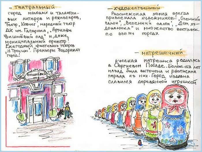 Сергиев Посад, зарисовка