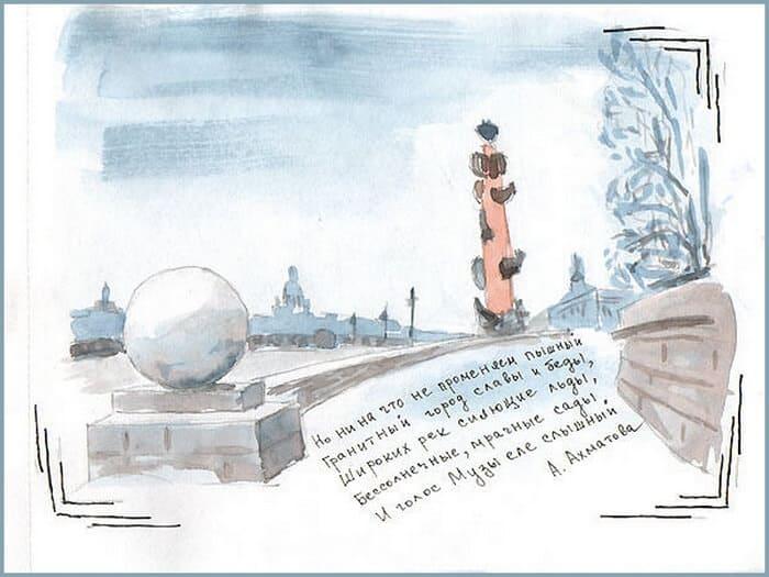 идеи для артбука, города