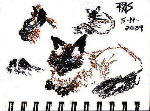 что нарисовать в скетчбуке, быстрый рисунок
