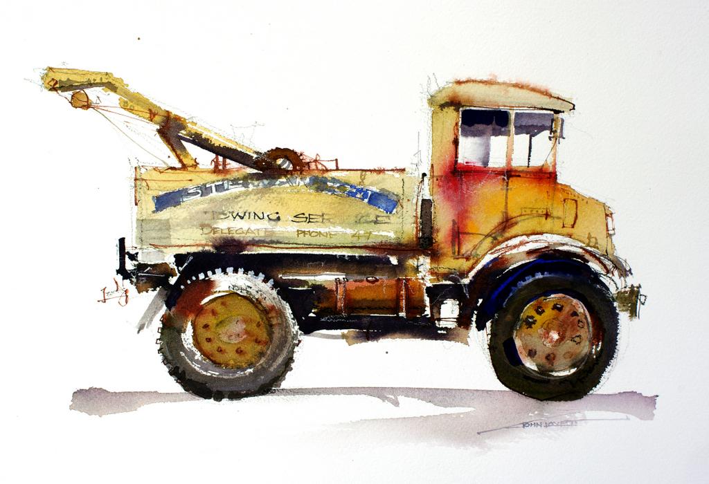 Цветовой контраст в живописи, John Lovett
