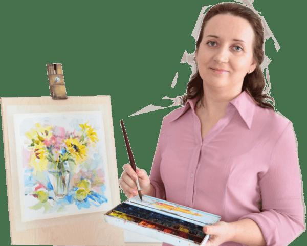 школа рисования Марины Трушниковой