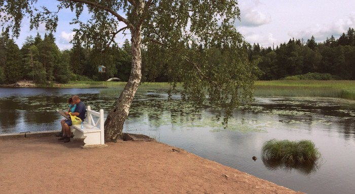 Выборгский пленэр, парк Монрепо, Выборг, арт-путешествия