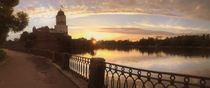 Выборг, Выборгский замок, арт-путешествие с Мариной Трушниковой