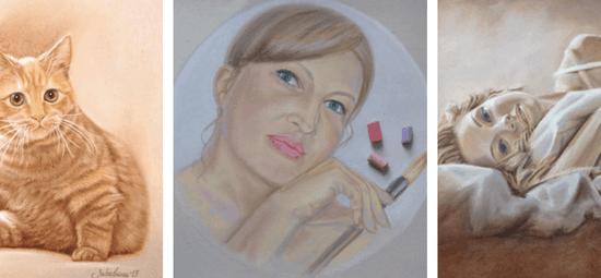 Оксана Забавина, ученики Марины Трушниковой