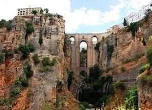 мост в испанском городе Ронда