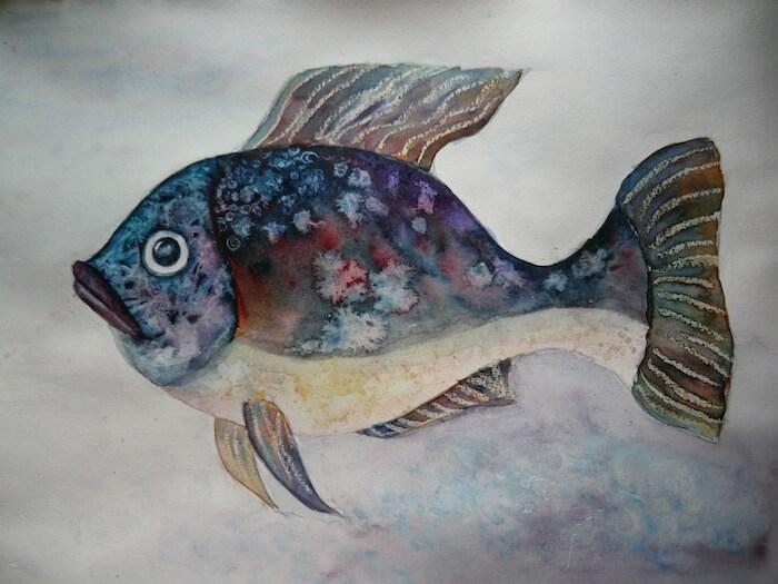 Укрощение акварели, Марина Трушникова