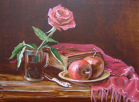 уроки живописи маслом