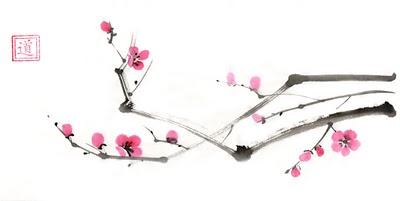 Марина Трушникова Цветущая сакура