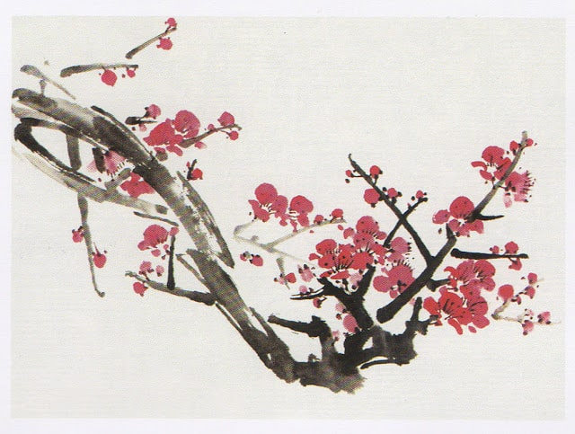 китайская живопись гохуа