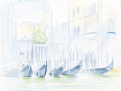 venecia3 венецианский пейзаж, Марина Трушникова