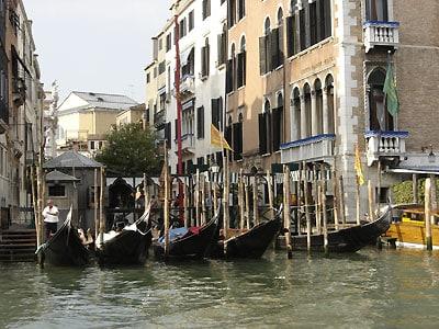venecia_photo гондолы, Венеция