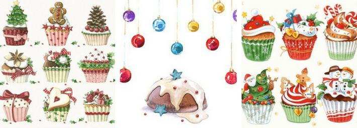 рождественское угощение, скетч