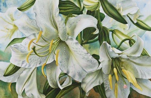 Lisa Hill лилии
