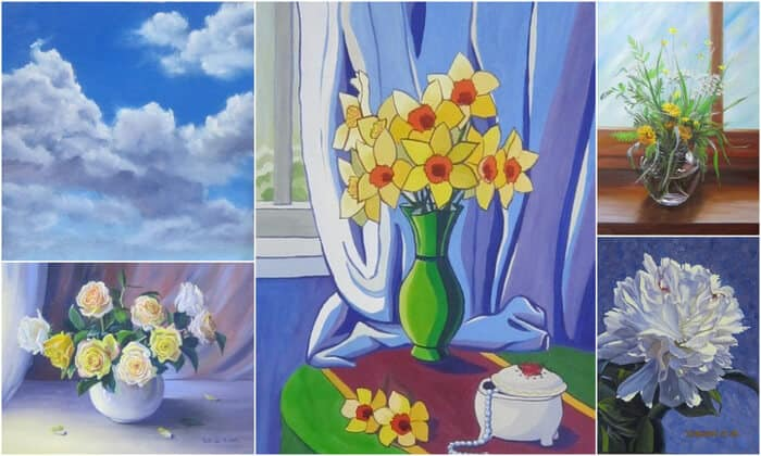 школа живописи онлайн, он-лайн живопись