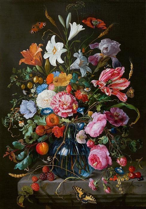 нарисовать букет цветов, композиция