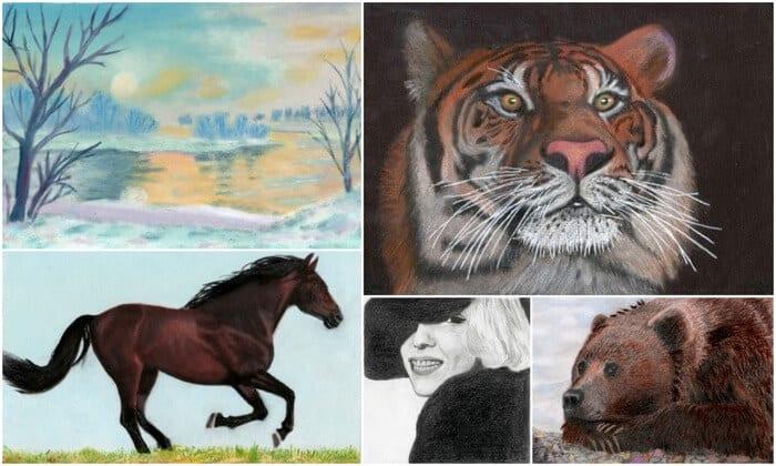 как научиться рисовать животных