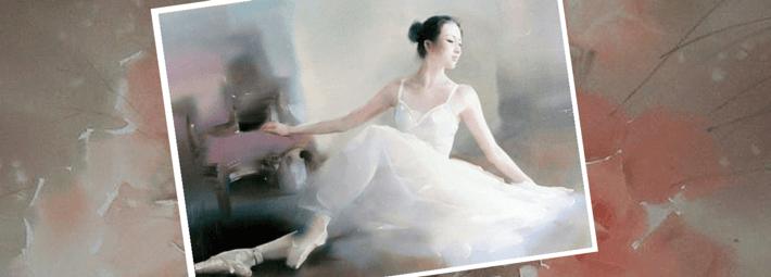 Liu Yi, обучение акварели